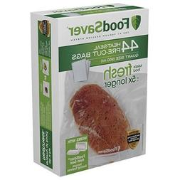 FoodSaver 1-Quart Precut Vacuum Seal Bags with BPA-Free Mult
