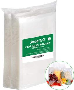 100 Pint Vacuum Sealer Storage Bags 6 x 10 Inch Size for Foo