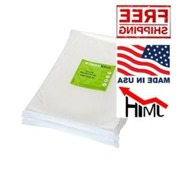 "Avid Armor 100 Quart Vacuum Sealer Bags Size 8"" x 12"" for Fo"