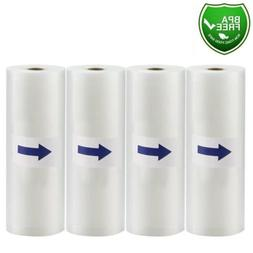 "11""x50' Food Saver Vacuum Sealer Bags Rolls 4Mil Embossed Fo"