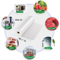 11X50 Rolls Vacuum Sealer Bags for Sous Vide Foodsaver 4 Mil