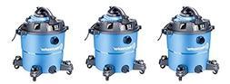 Vacmaster 12 Gallon, 5 Peak HP, Wet/Dry Vacuum with Detachab