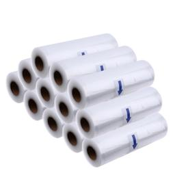 "12 Rolls 8"" x 50' Vacuum Sealer Heavy Duty Embossed Bags for"