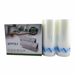 2/4 Roll Food Saver Storage Vacuum Sealers Freezer Bag Roll