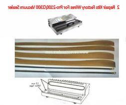 2 Factory Repair Kits for Weston PRO-2300/2100  & Pro-3000