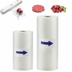 2 Roll 8X50 11X50 Food Saver Vacuum Sealer Bags 4 mil Emboss