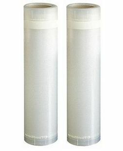 2 Rolls ROLLPACK Vacuum Sealer Bag Food Storage Bags Food Sa