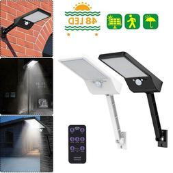48 LED Solar Power Motion Sensor Garden Security Lamp Outdoo