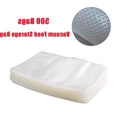 "500 CT 8"" x 12"" Vacuum Food Sealer Storage Saver Freezer Bag"