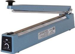 "AIE AIE-505 Impulse Handheld Bag Sealer, 20"" Max. Seal Lengt"