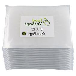 600 FoodVacBags 8x12 for FoodSaver Quart Universal Vacuum Se
