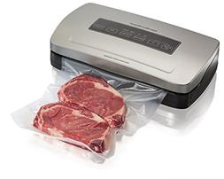Hamilton Beach 78220 Vacuum Sealer Machine with Bag Cutter,