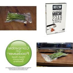 Weston 8-By-12-Inch Vacuum-Sealer Food Bags 100 Count
