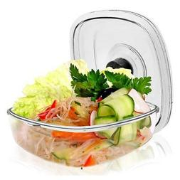 Air Vacuum Seal Food Container - 2 Liter Capacity Kitchen Re