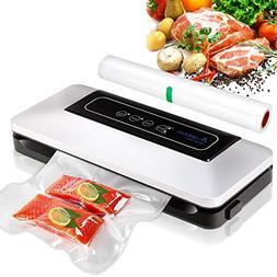 Aobosi Vacuum Sealer Automatic Food Savers Vacuum Machine wi