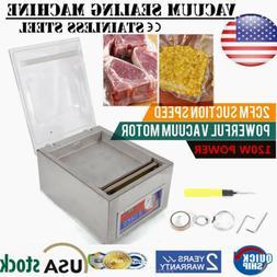 Vacuum Sealing Machine Commercial Hydraulic Pressure W/ Disp