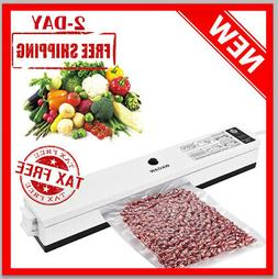 WAOAW Compact Vacuum Sealer Machine with Starter Kit for Foo