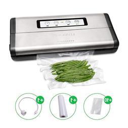 Crenova VS100S Vacuum Sealer 2018 Updated Food Saver Machine