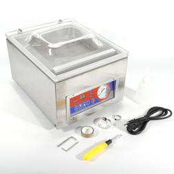 Desktop Vacuum Sealer Commercial Kitchen Food Chamber Packag