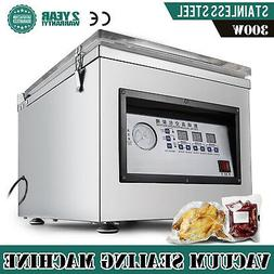 Digital Vacuum Packing Sealing Machine Sealer 300W Chamber C