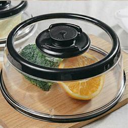 Dome Mintiml Vacuum Food Sealer Platter Container Kitchen Pr