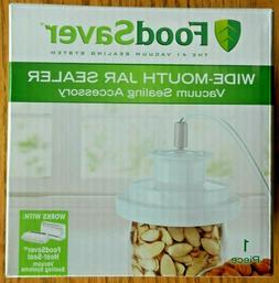 Food Saver Foodsaver vacuum jar sealer Wide Mouth NEW BOXED