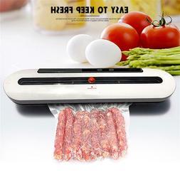 Food Vacuum Sealer System Storage Saver Bags Kitchen Sealing