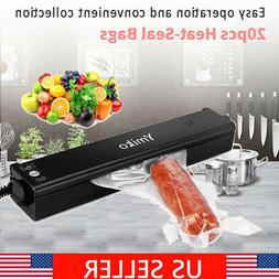 Food Vacuum Sealer System Storage Saver Kitchen Sealing Mach