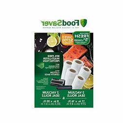 """FoodSaver 8"""" and 11"""" Vacuum Seal Rolls Multipack Make BPA-Fr"""
