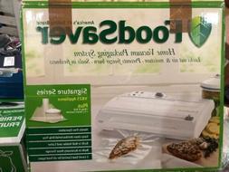 FoodSaver Food Game Saver V825 Signature Series Vacuum Seale