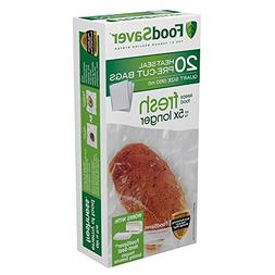 FoodSaver Quart-sized Bags Discounted Pack-100 Count FoodSav