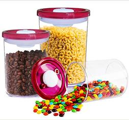 G.S Double Airtight Food Storage Container Set with Vacuum S