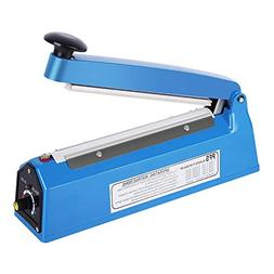 "Handheld 8"" Heat Sealing Impulse Manual Sealer Machine Poly"