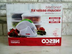 Nesco Handheld Vacuum Sealer and Food Storage Kit