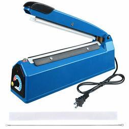 """8"""" Heat Sealing Impulse Manual Sealer Machine Poly Tubing Pl"""