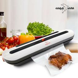 Household Food Vacuum Sealer Packaging Machine With 10pcs Ba
