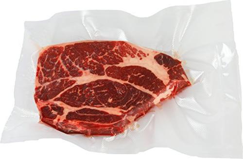 100 Count - Gallon Size Vacuum Bag Food Storage Grade Precut and Sous Vide