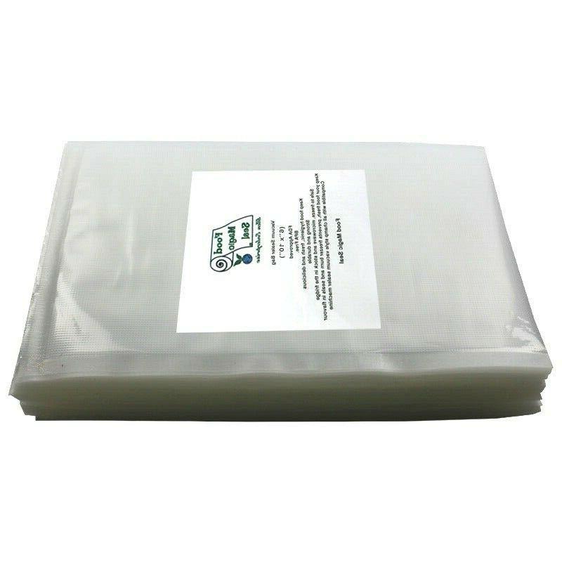 100 bags for vacuum sealer food storage