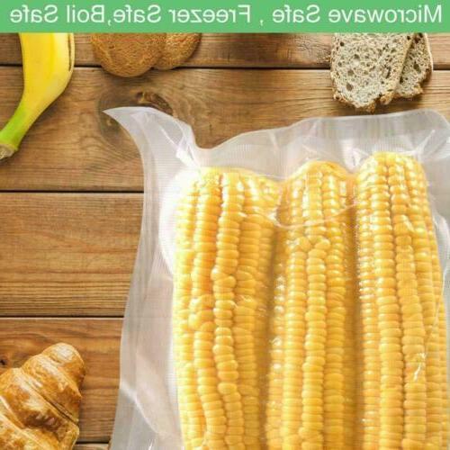"100 Storage Sealer Bags Packing Food Size 8x12"" USA"