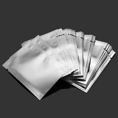100PCS Aluminum Mylar Bag Sealer Storage Package
