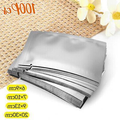 100PCS Aluminum Bag Heat Food Storage Package