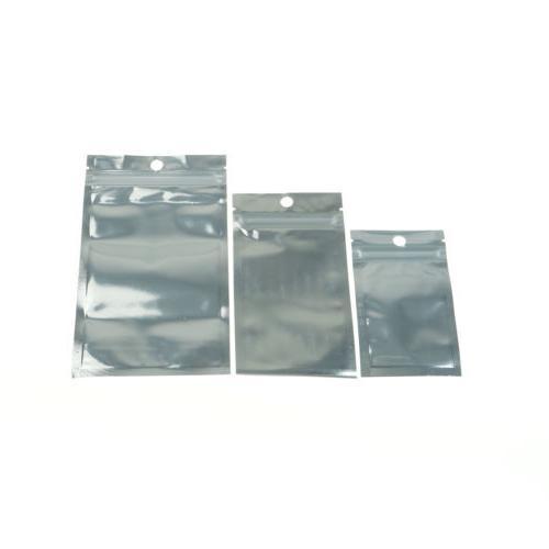 100x Aluminum Mylar Bag Vacuum Sealer Zip Food HV