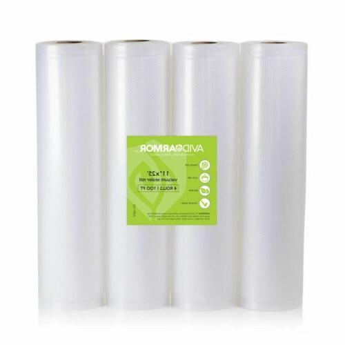11 x 25 vacuum sealer bag rolls