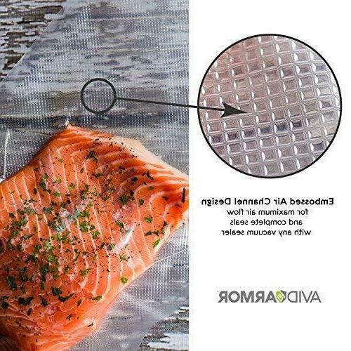 11x50 Vacuum Sealer Bags Roll for Food Seal a Meal Sealers Pack