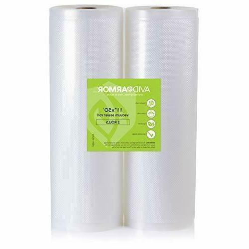 11x50 vacuum sealer bags roll for food