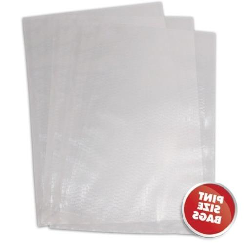 "2-Packs Weston 6""x10"" 3mil Commercial Grade Vacuum Seal Bags"