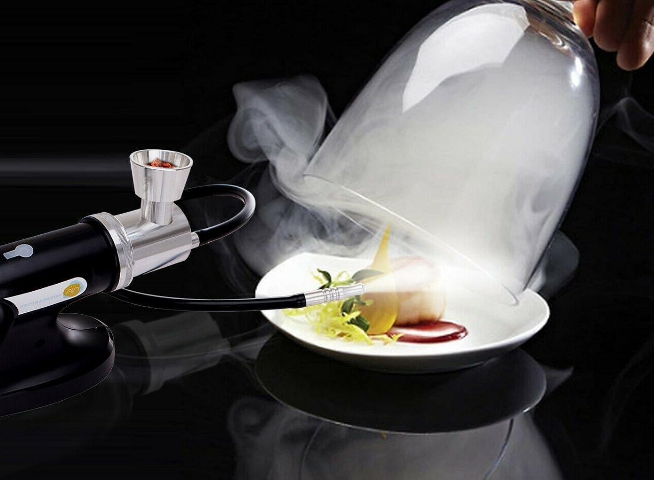 2-in-1 Smoking Gun Smoker Vacuum Sealer - Smoke infuser for Food &
