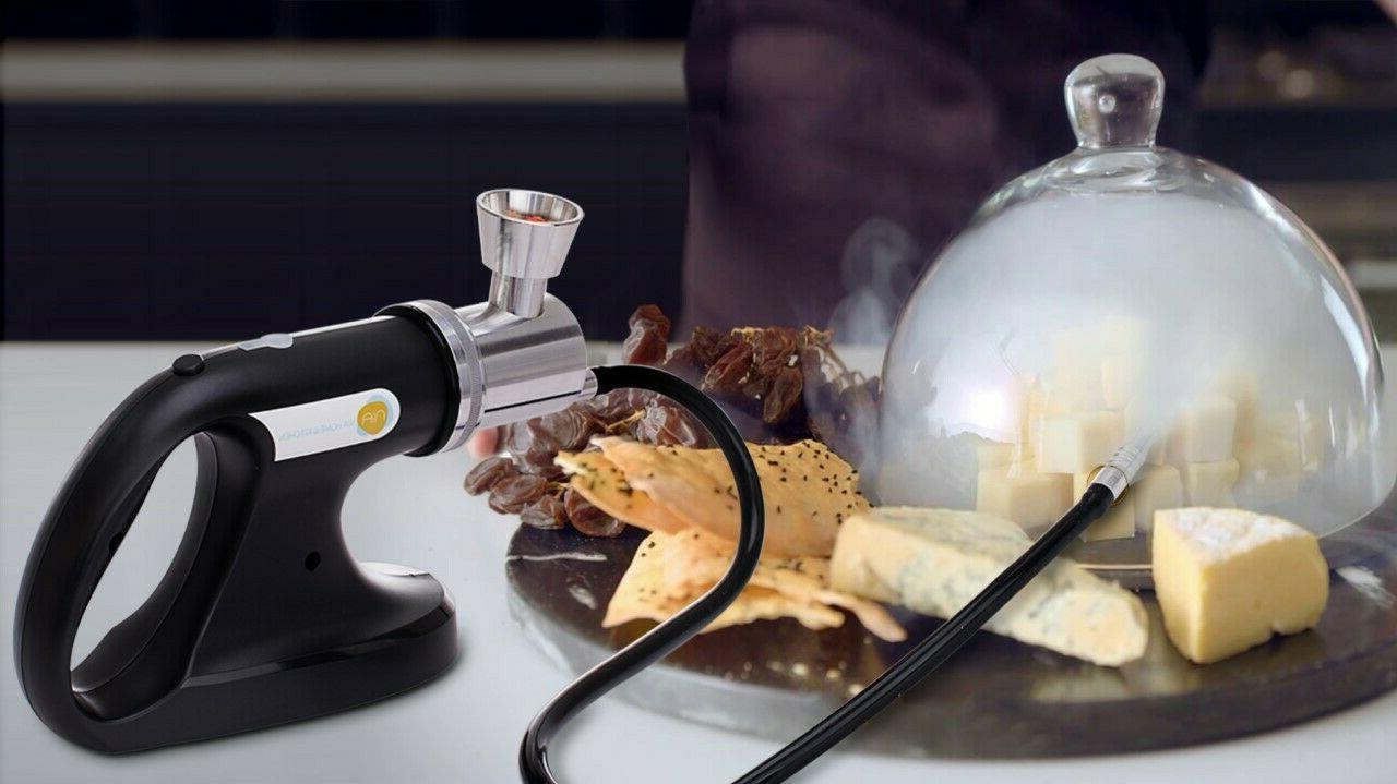 2-in-1 Smoking Cold Smoker Sealer - Food & Drinks