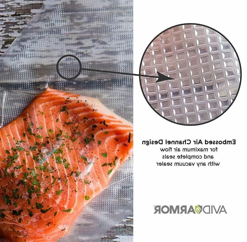 2 Bag 100 Feet 8''x 50' Seal a Meal Sealer Free