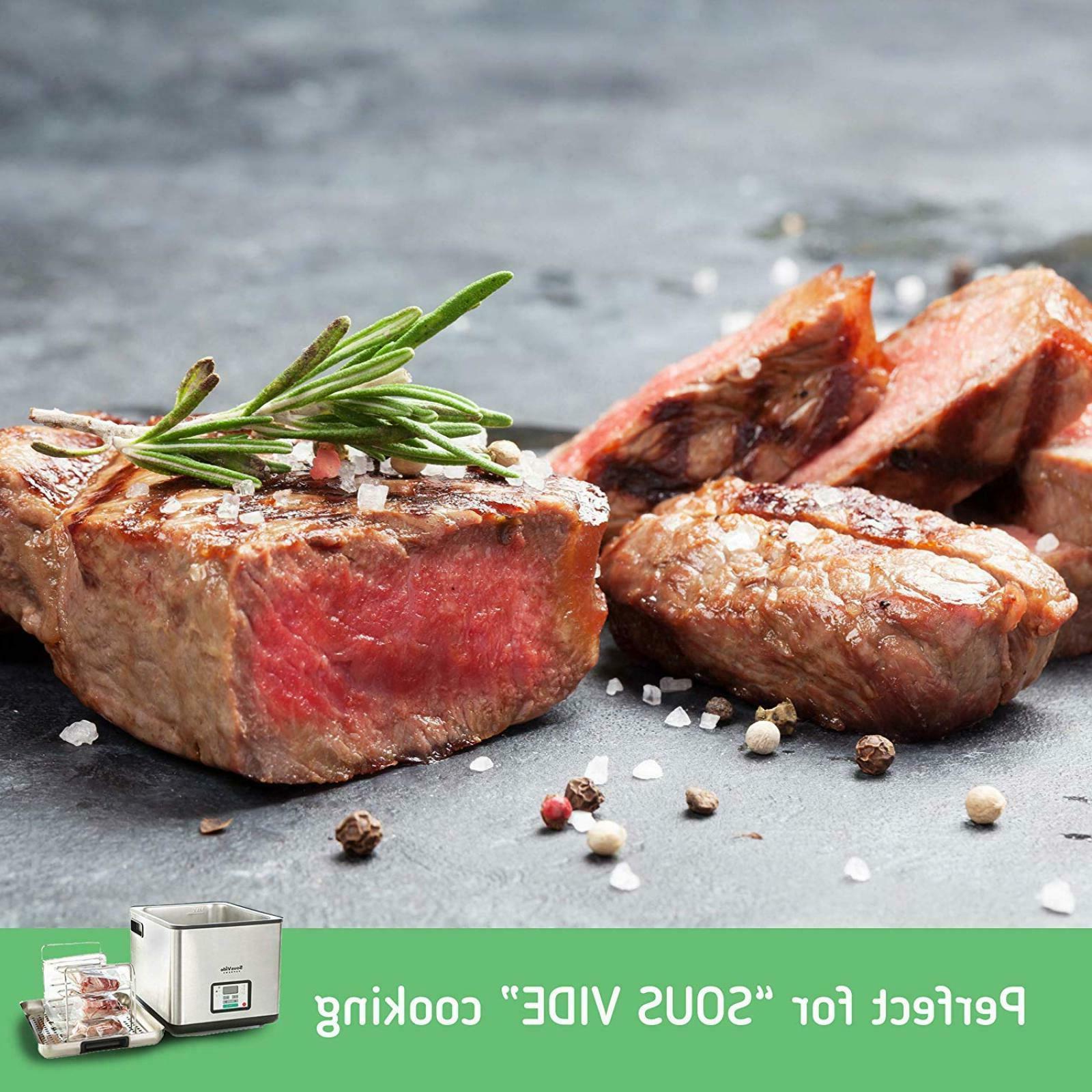 🔥 2 Rolls 11x50. Commercial Grade Food Bags Rolls.